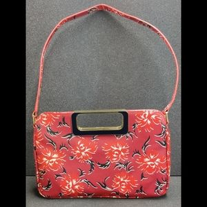 Talbot's floral leather purse